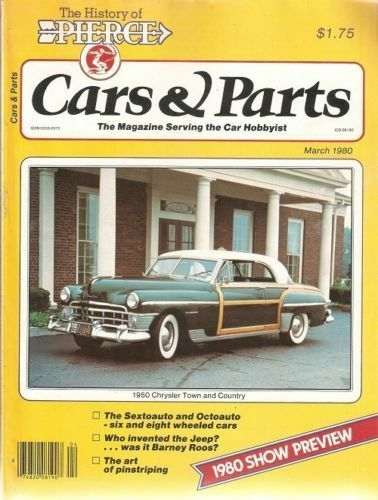 Cars Parts March 1980 1950 Town And Country 1965 1966