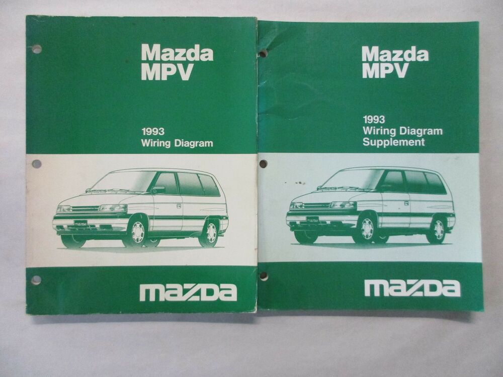 Diagram 2005 Mazda Mpv Van Electrical Wiring Diagram Service Repair Shop Manual Oem Book Full Version Hd Quality Oem Book Findtexaselectricity 9x9sport Fr