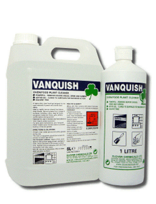 Vanquish Heavy Duty Oven Kitchen Cleaner Grease Carbon Grime Burnt Food Remover Ebay