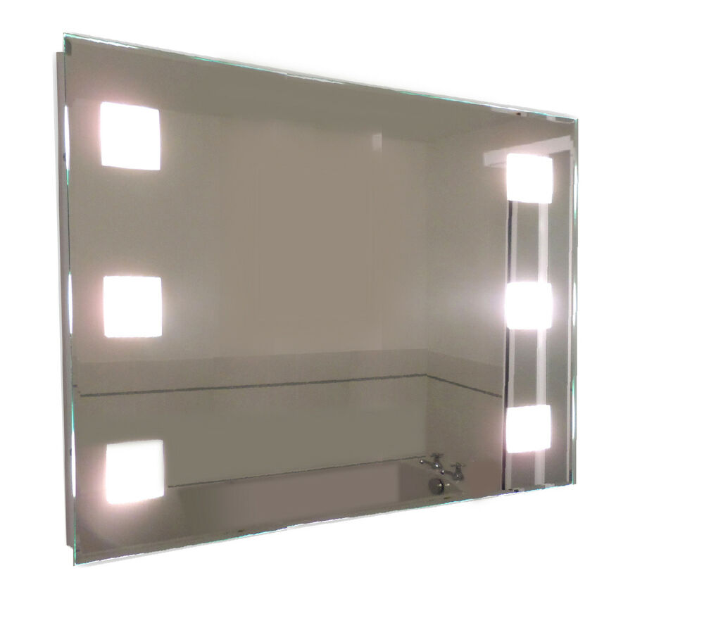 Tp24 Central Snaresbrook Led Illuminated Rectangular Bathroom Mirror 600 X 900 Ebay