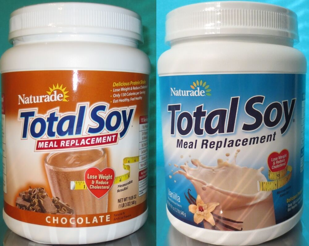 Naturade Total Soy meal replacement supplement shake ...