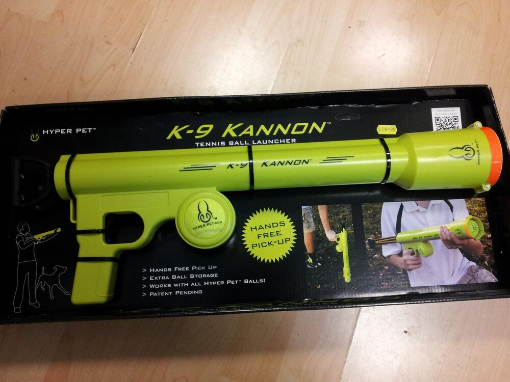 Dog Tennis Ball Launcher >> K9 Kannon Dog Tennis ball launcher thrower cannon. Shoots up to 75ft !! | eBay