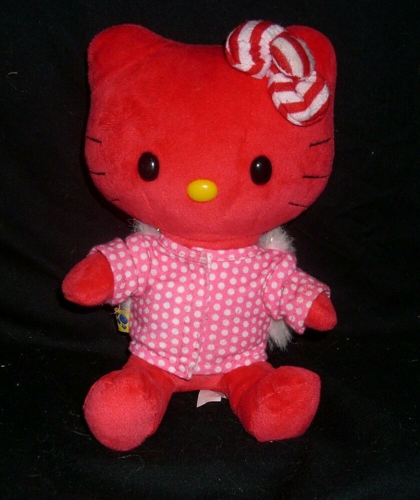 Hello Kitty Plush Toys : Quot build a bear red hello kitty smallfrys limited ed