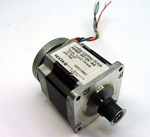 Vexta oriental a6445 9215k a4 5 phase stepping motor 2 2a for 5 phase stepper motor