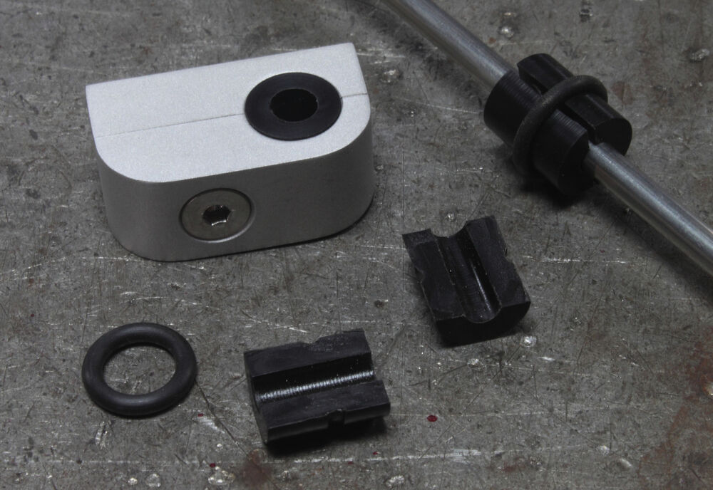 Brake Line Clamps : Brake fuel line clamps one hole series alter ego mc