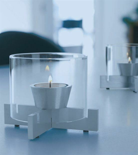 Herstal Waya Set Of 2 Candle Holder Set Clear Christmas Dining Table EBay