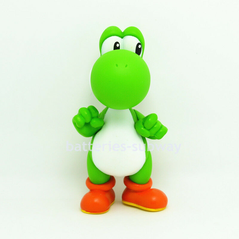 Toys For Brothers : New super mario bros brothers yoshi green toy pvc action