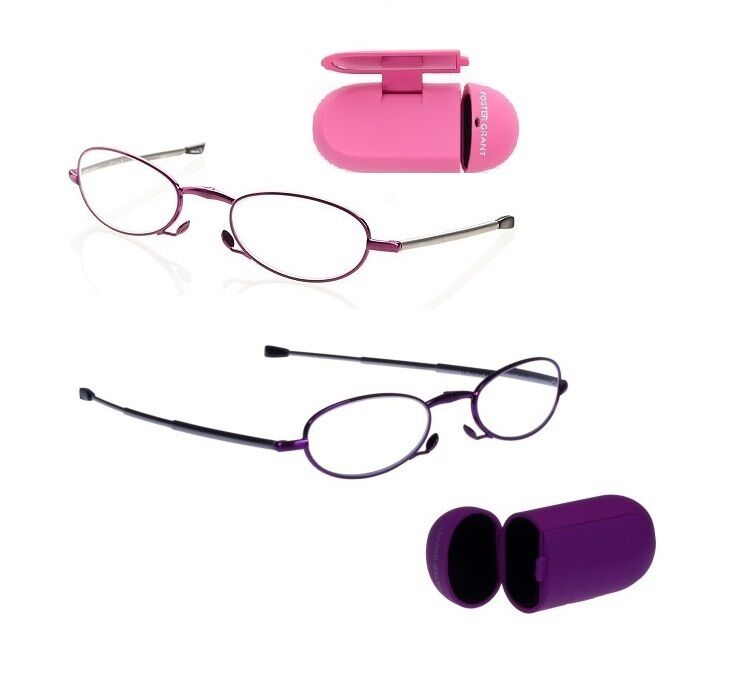 foster grant gwendolyn folding womens reading glasses pink