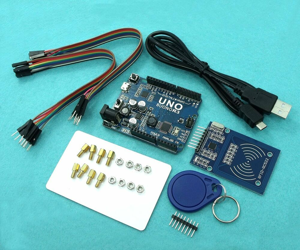 Buono uno r with rc rfid reader kit and sample code