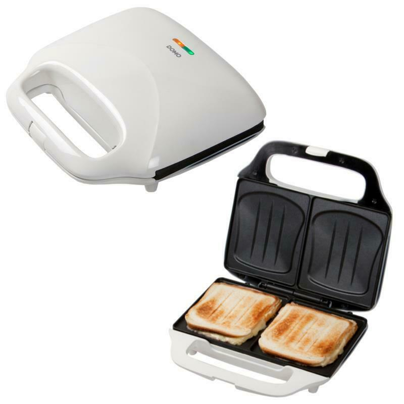 xxl sandwich toaster f r ganze toast riesen sandwich maker toaster wei neu ebay. Black Bedroom Furniture Sets. Home Design Ideas
