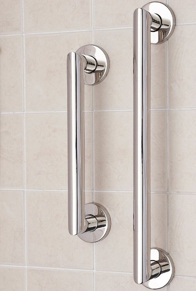 Stainless steel disability grab rail support handle bar - Grab bars for toilet in bathrooms ...