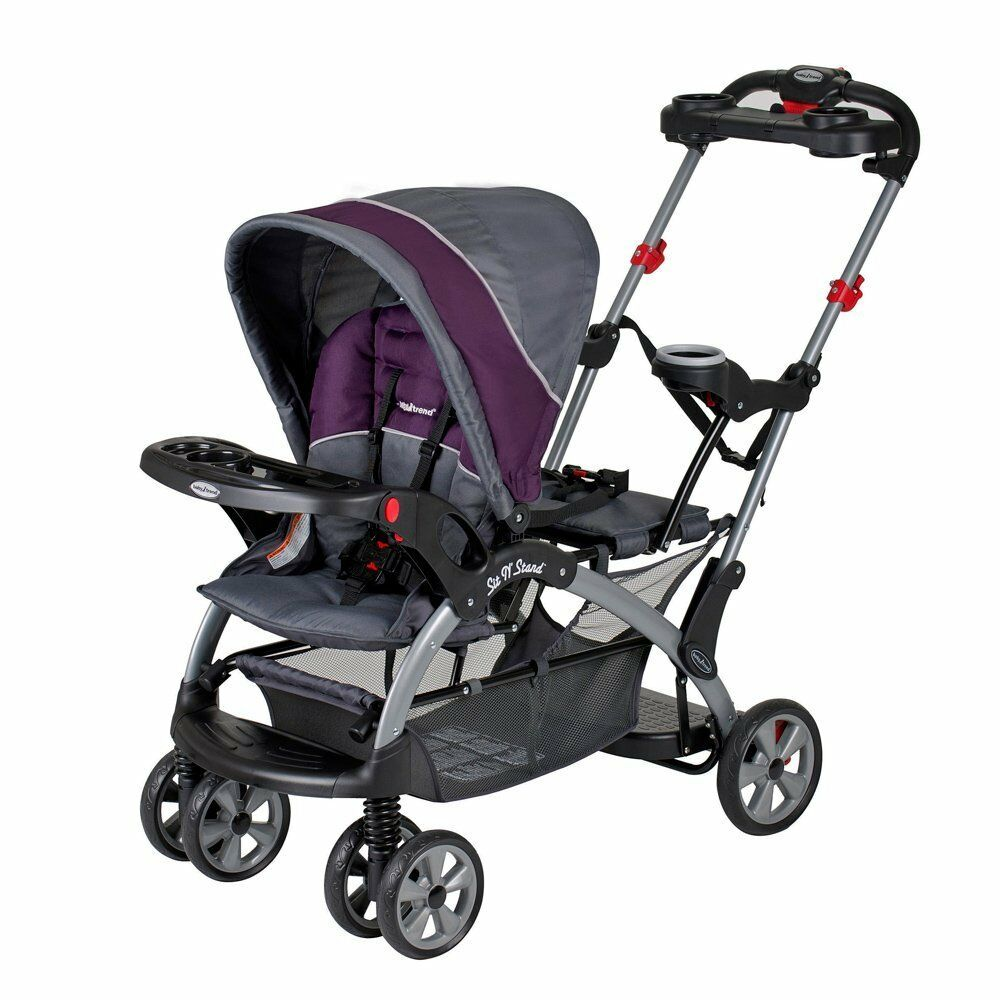 New Amp Sealed Baby Trend Sit N Stand Ultra Stroller