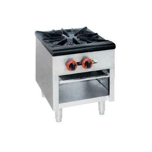 Kitchen Hobs Commercial ~ Dual ring burner single hob gas cooktop commercial