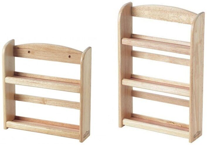 2 Tier 3 Tier Wooden Spice Rack Herb Storage Holder Wall