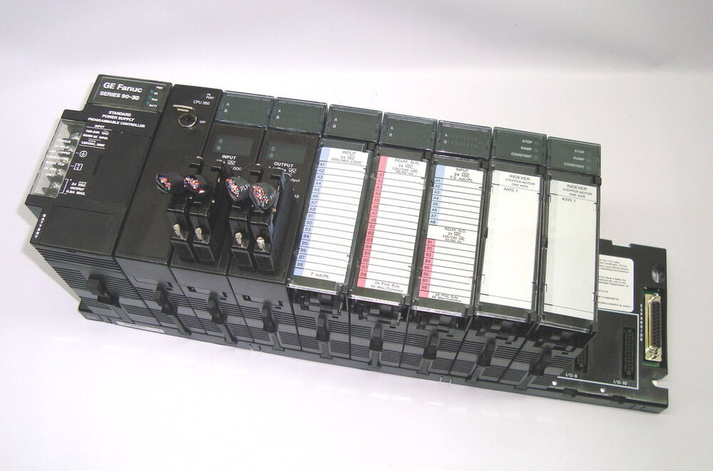 Ge fanuc 90 30 plc cpu350 ic693cpu350 ic693mdr390 for Ge motors industrial systems