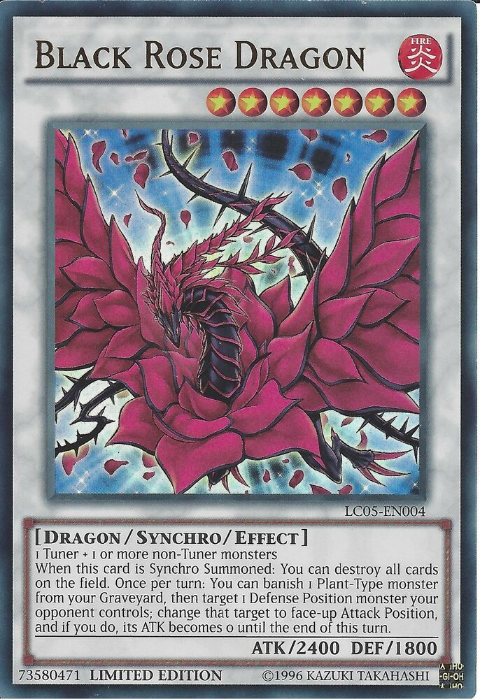 Good, support. yu gi oh black rose dragon
