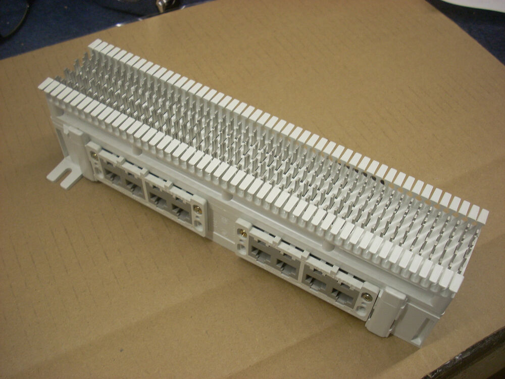 Siemons 12 Port Rj45 Cat5e Patch Panel With 66 Block