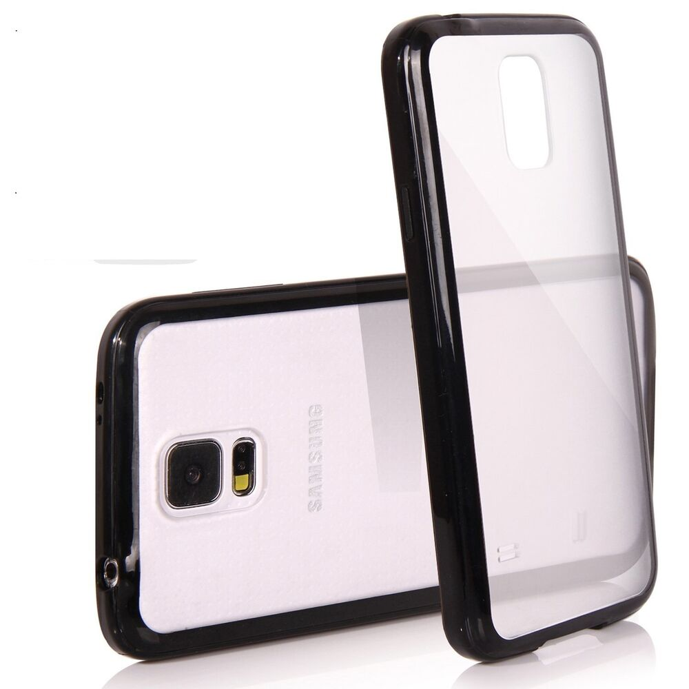 Bumper Clear Hard Back Cover Case For iPhone Samsung ...