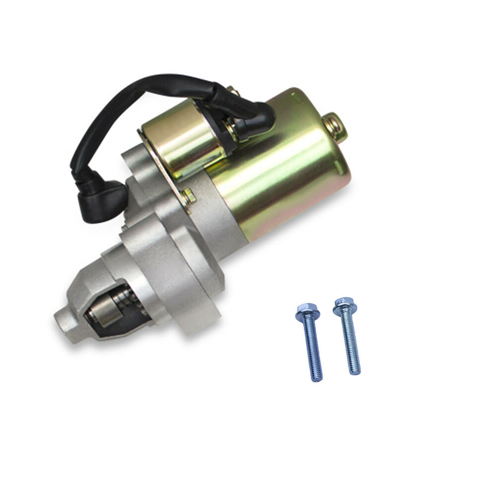 New Starter Motor With Solenoid For Honda 8hp 9hp Gx240