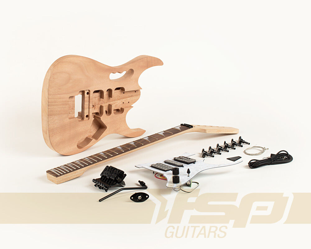 how to build a solid body guitar
