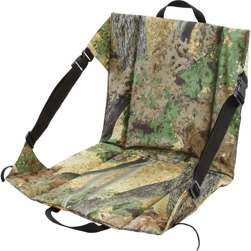 Camo Stadium Bleacher Cushion Chair Outdoor Deer Stand