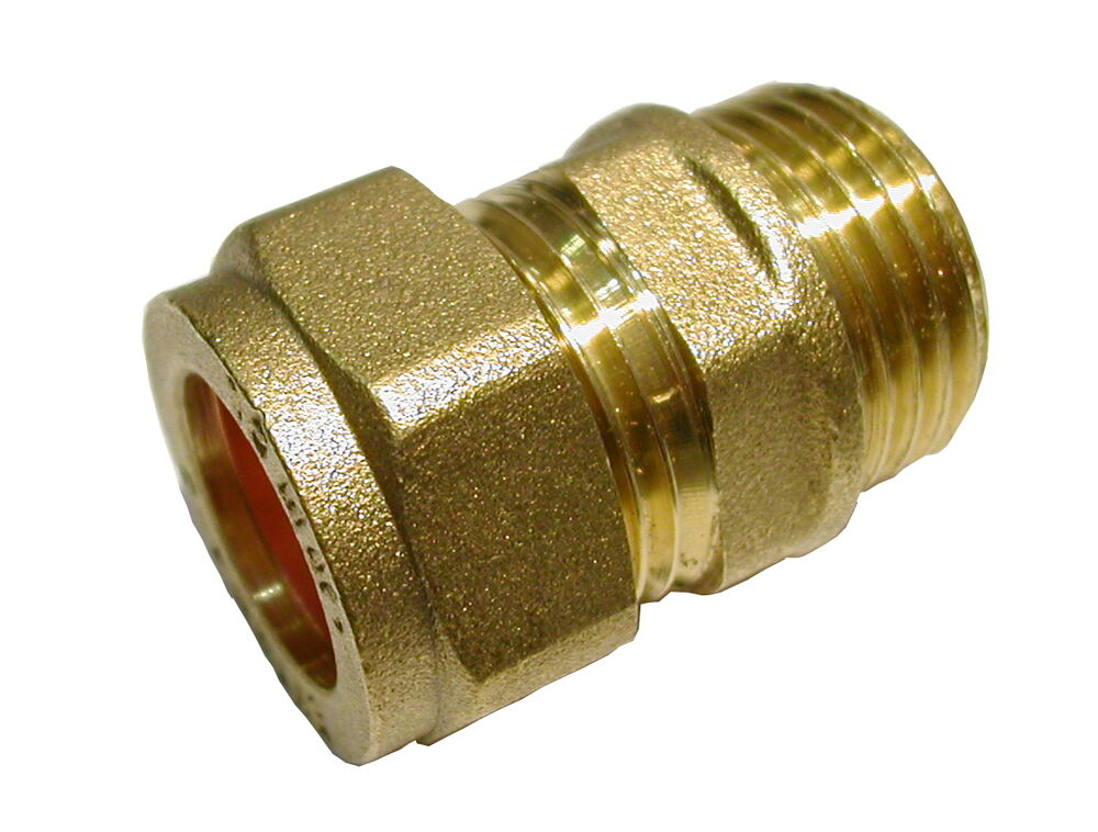 1/2 in. Comp x 3/4 in. NPT Lead-Free Brass Compression ...