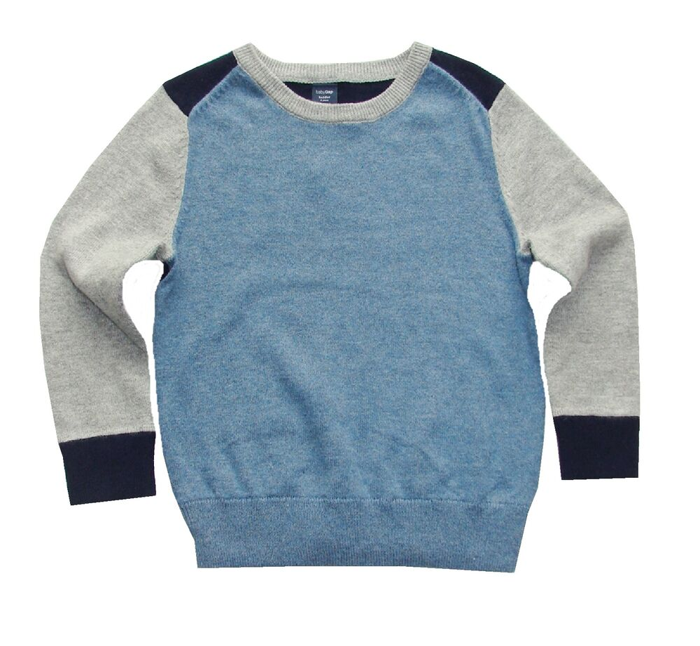 Baby Gap Toddler Boy S Color Block Pullover Sweater 12 18