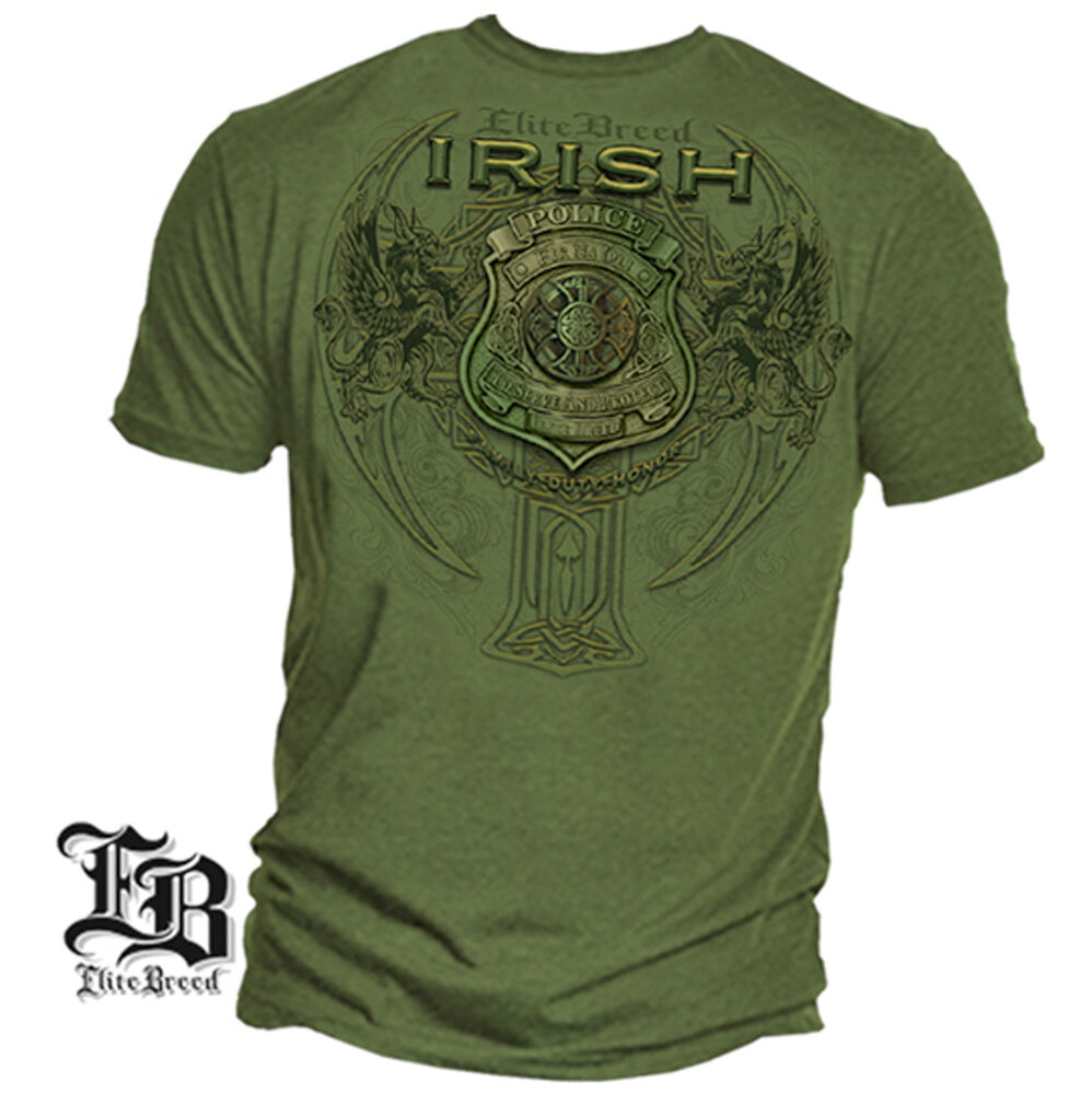 Irish Police: New IRISH POLICE T-SHIRT FIR NA DLI