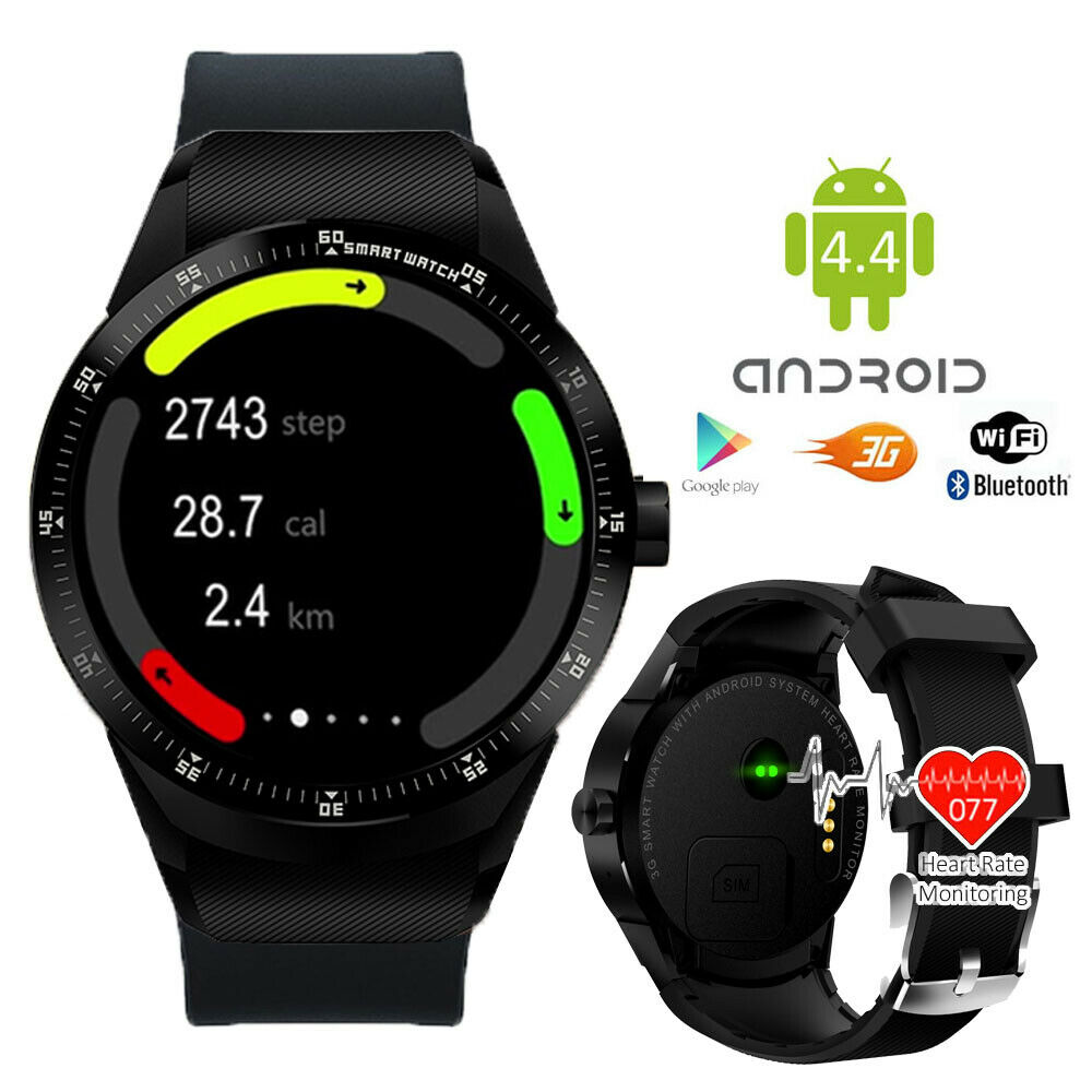 Camera Phone Watches Android unlocked android 4 smart watch cell phone 3g wifi bluetooth google play store ebay