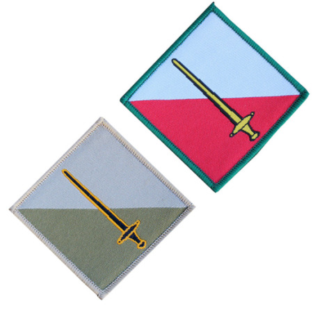 img-42 INFANTRY BRIGADE & HQ NORTH WEST (42 INF BDE) BRITISH ARMY TRF FLASH PATCH