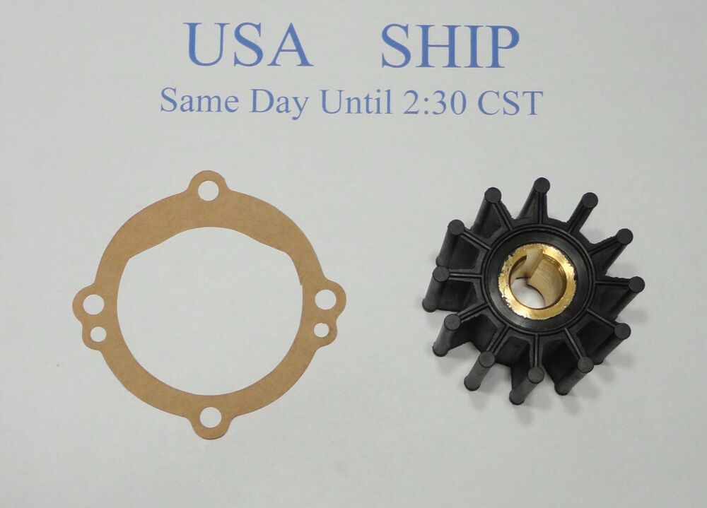 Impeller Kit For Sherwood Raw Water Pump B04 C 03 E35 F10