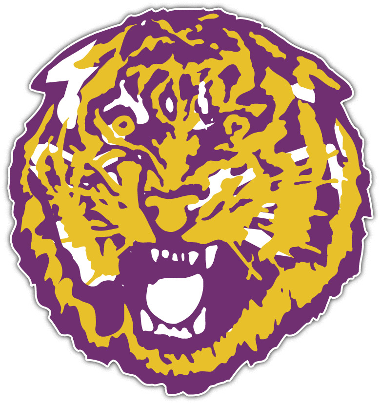 Louisiana State Lsu Tigers Ncaa Vinyl Car Bumper Window