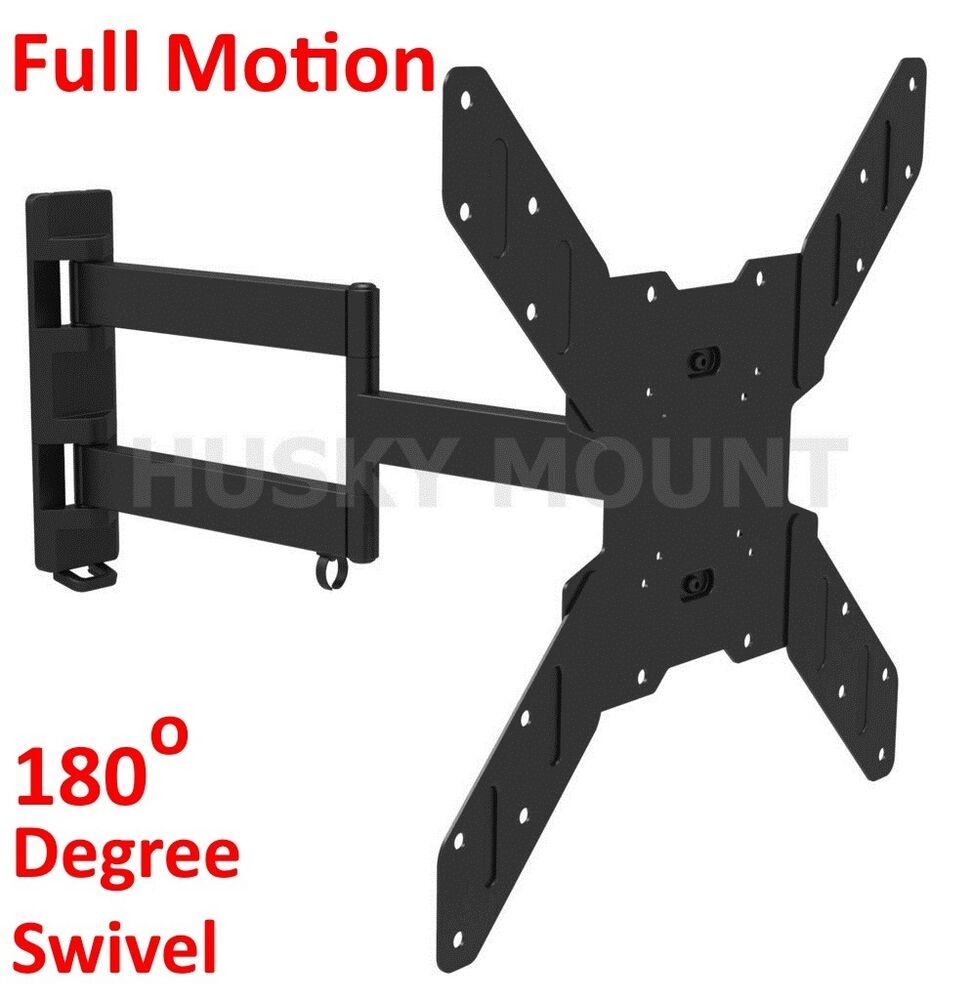 Full Motion Tv Wall Mount Swivel Bracket 32 42 46 50 55