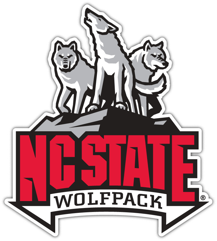 North Carolina State Wolfpack Ncaa Vinyl Car Bumper Window