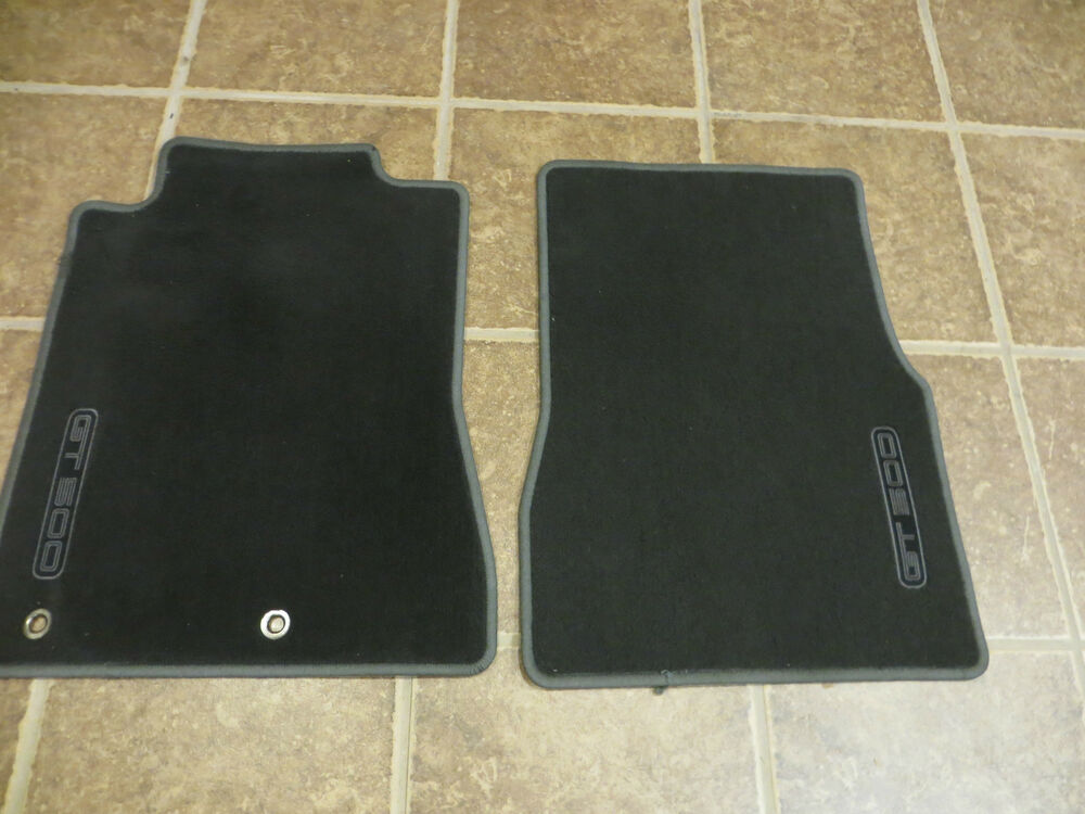 2010 ford mustang gt500 shelby cobra floor mats front for 1967 ford mustang floor mats