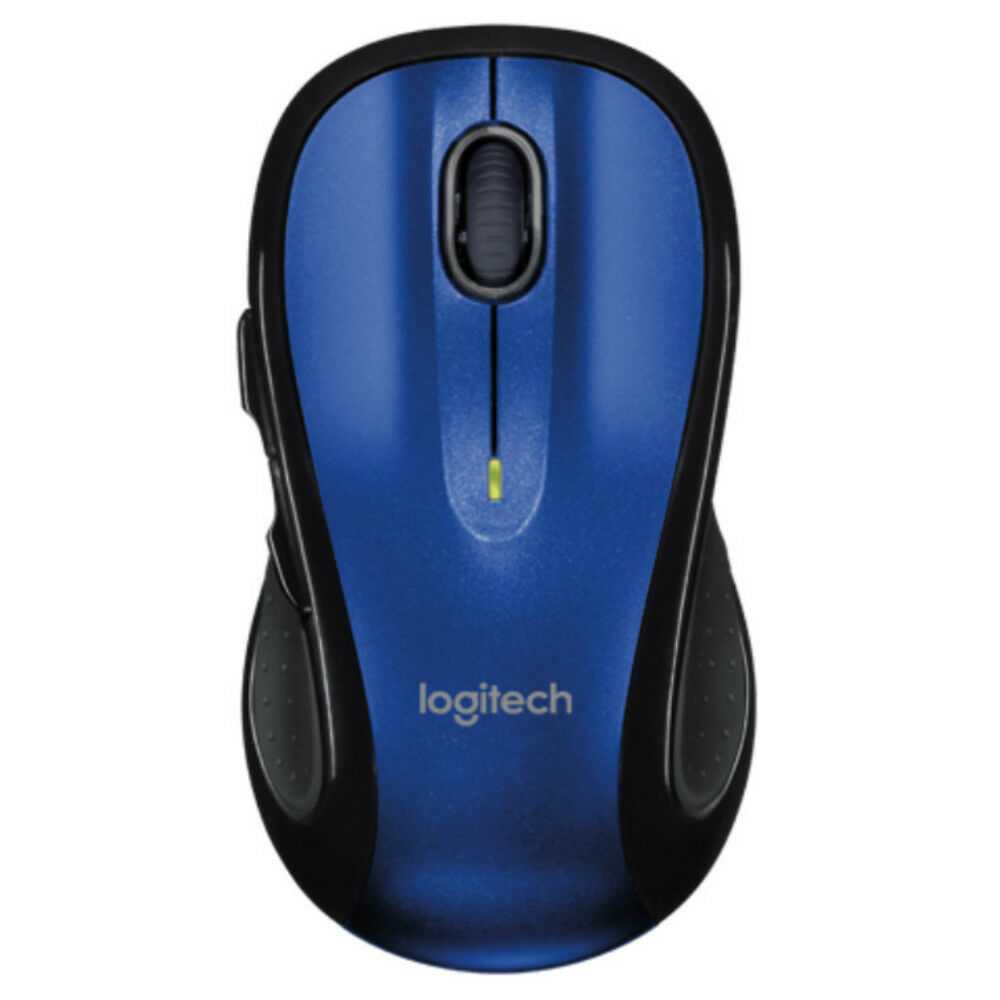 e78bcc7e8 Details about Logitech M510 Wireless Laser Mouse Blue with Unifying Receiver