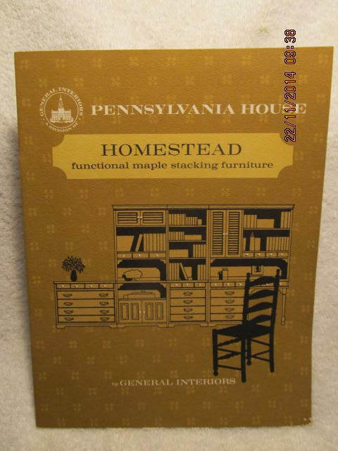 Vintage Catalog Pennsylvania House Homestead Functional Maple Stacking Furniture Ebay