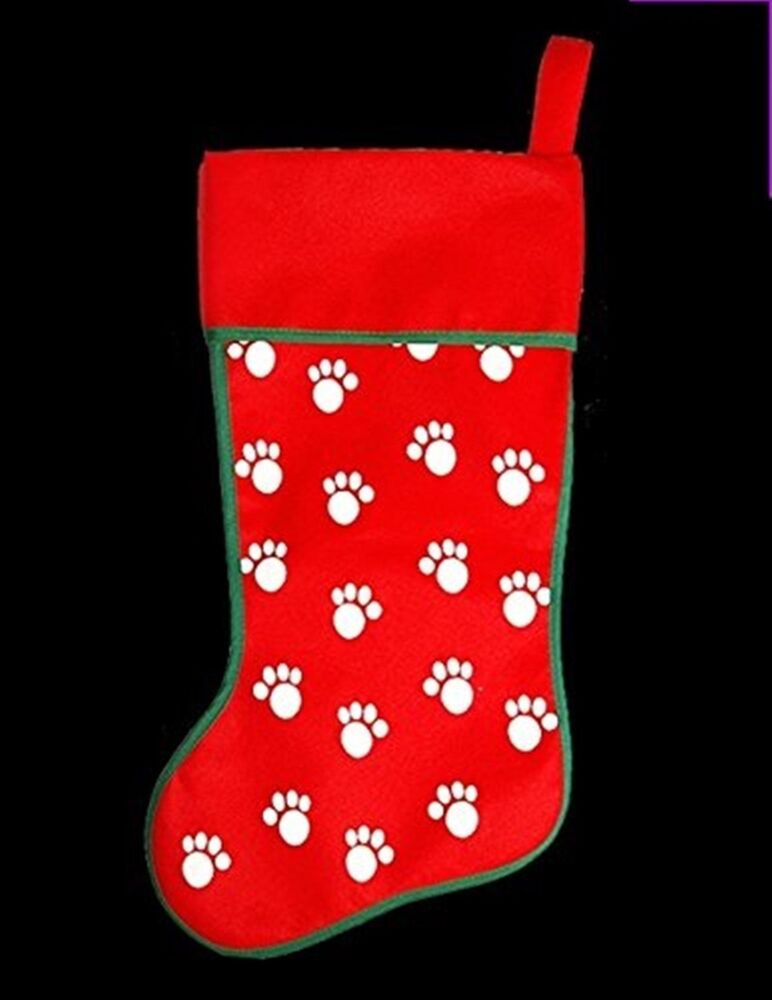 Dog Paw Stocking Uk