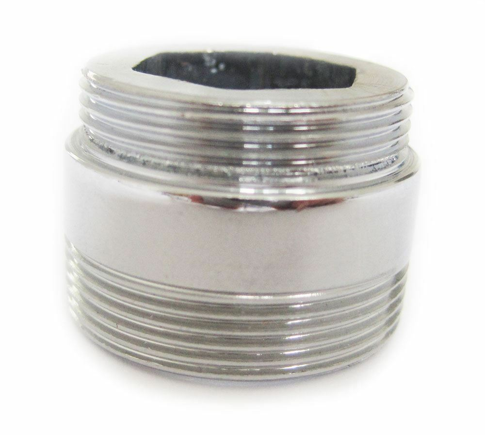 Solid Metal Adaptor For Water Saving Kitchen Faucet Tap