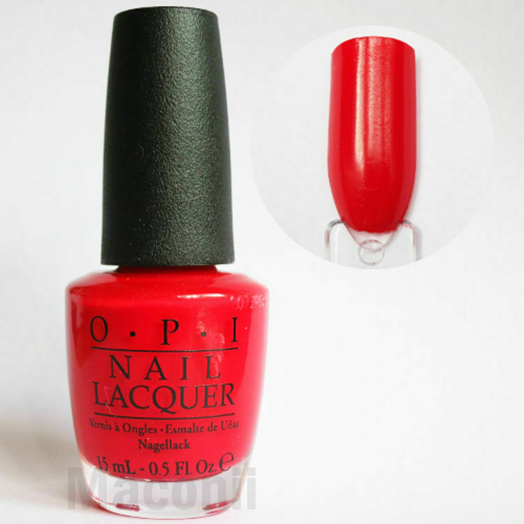 Classic Nail Color: C13 Coke Creme Classic Red Nail