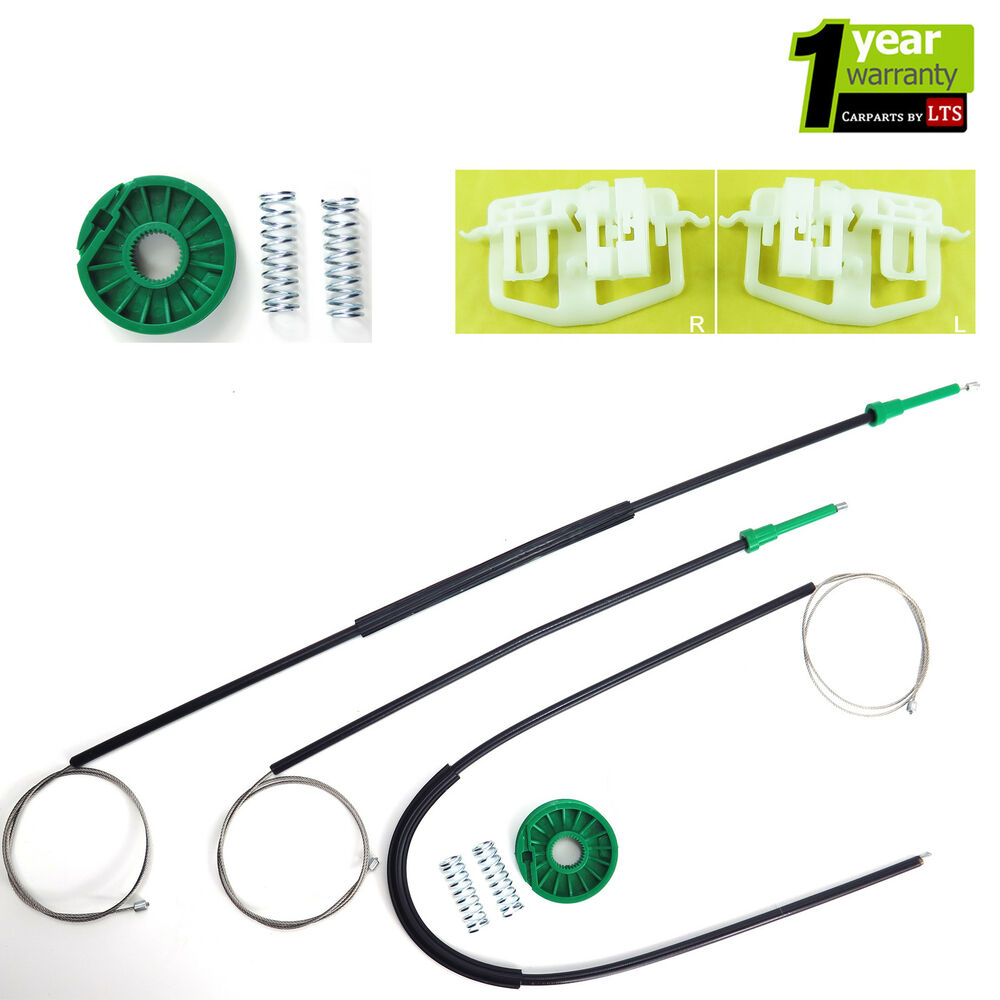 Ford fiesta 2 3 doors window regulator repair kit front for Electric motor rebuild shop near me