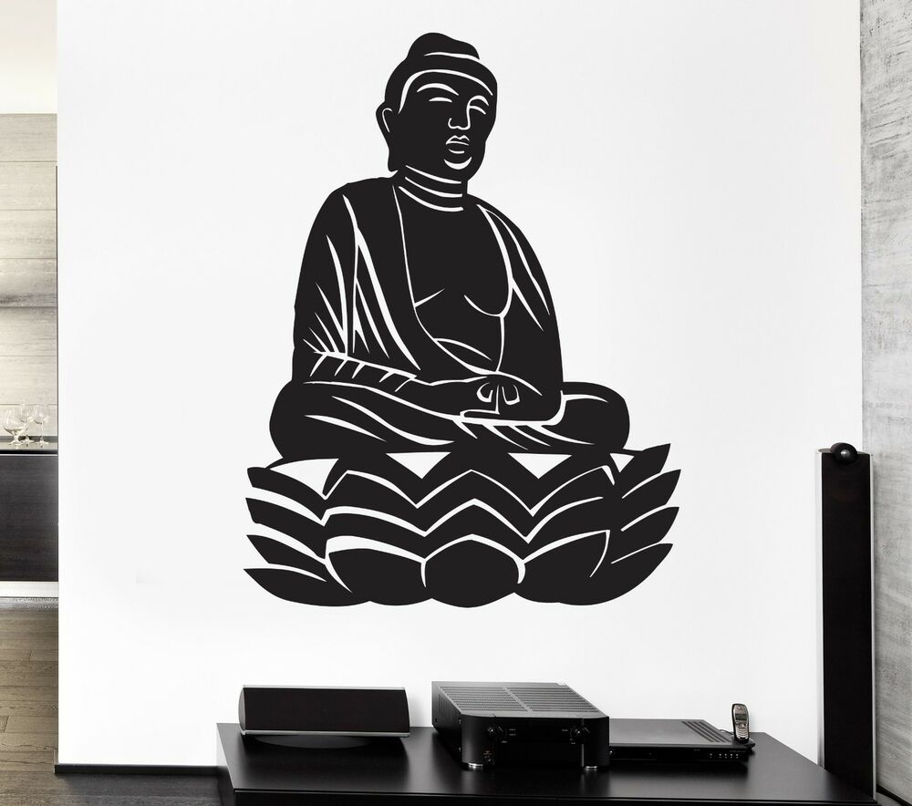 Buddha Wall Stickers Buddhism Zen Meditation Religion