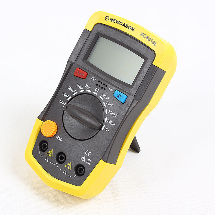 In Circuit Capacitor Tester : Xc l digtital lcd meter capacitance capacitor tester