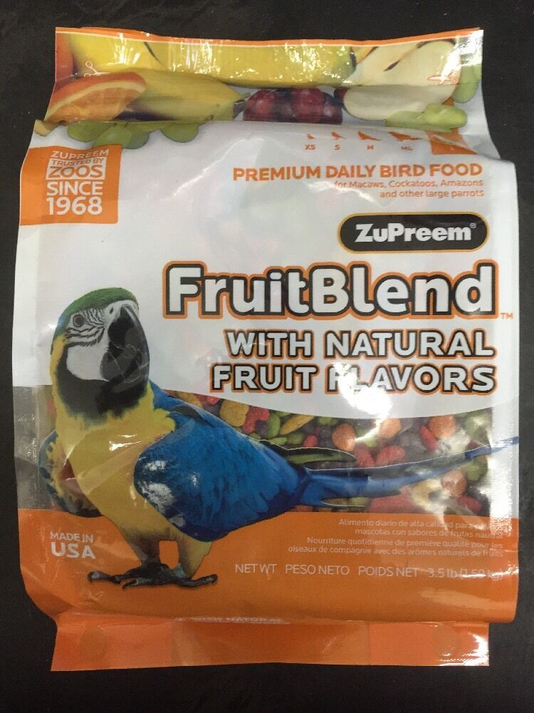 Daily Nutrition Your Bird Needs For Good Health.