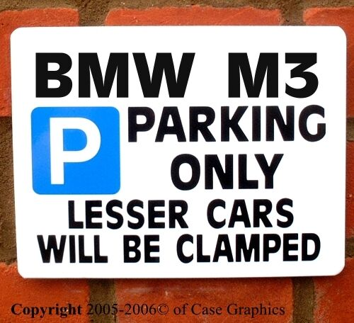 Amazoncom BMW Parking Only Small Metal Sign X Automotive BMW - Bmw parking only signs