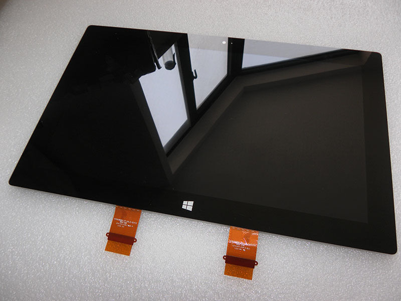 how to get back to touch screen on surface pro