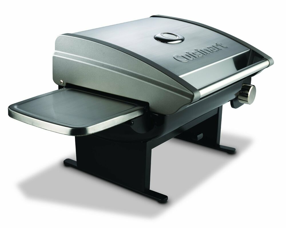 Cuisinart Outdoor Portable Gas Grill Stainless Steel