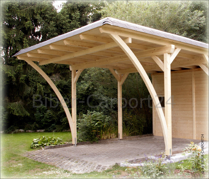 10x12 rundbogen carport leimholz leimholzbogen bogenbinder holzbogen leimbogen ebay. Black Bedroom Furniture Sets. Home Design Ideas