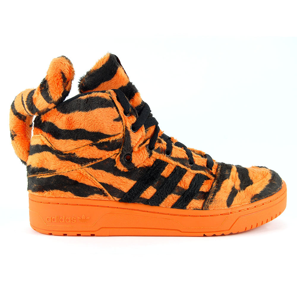 Adidas Originals Jeremy Scott Tiger Orange/Black Shoes ...