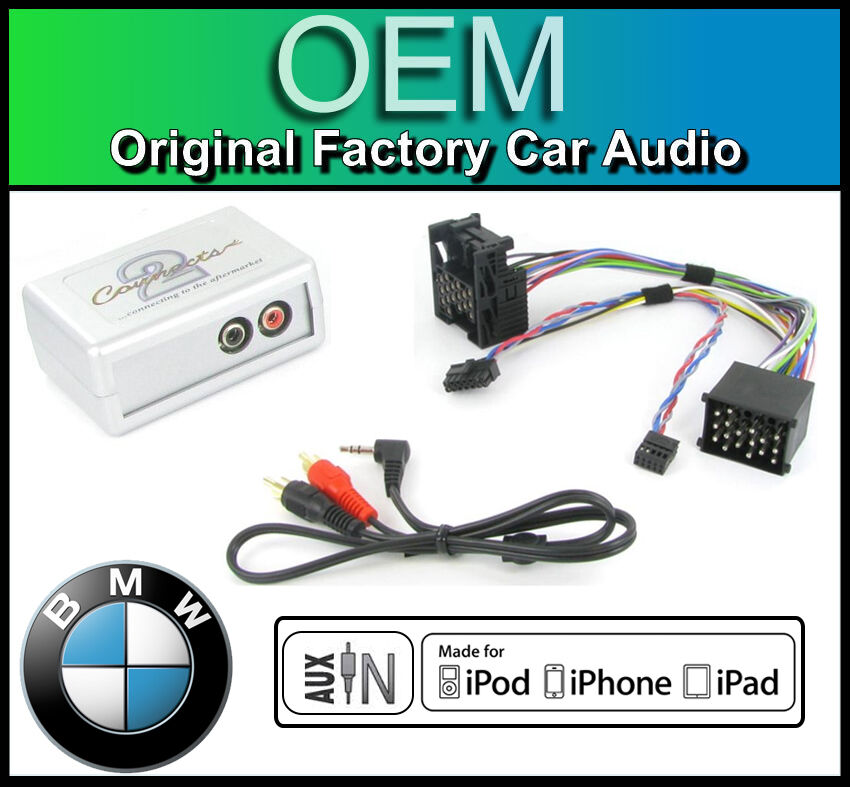 Bmw 3 Series E46 Aux In Lead Car Stereo Ipod Iphone Player